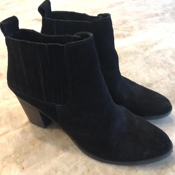 7dc487bb93f Dolce Vita Jorie Chelsea Boot Black 8.5